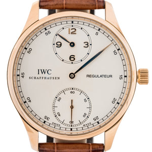 Iwc Portuguese Regulateur Rose Gold 43Mm (Iw544402) - Boston