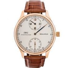 Load image into Gallery viewer, Iwc Portuguese Regulateur Rose Gold 43Mm (Iw544402) - Boston