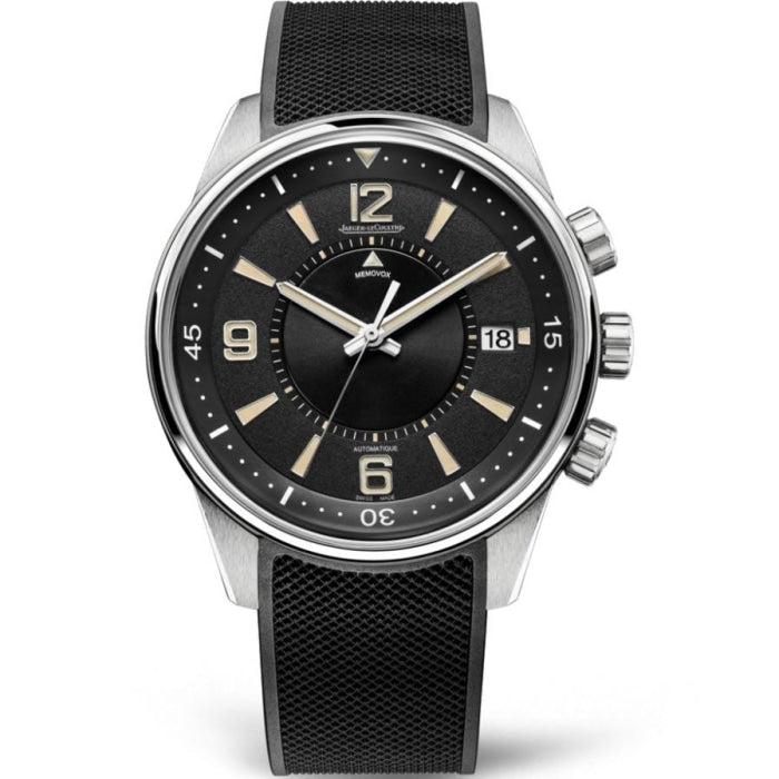 Jaeger Le Coultre Polaris Memovox 42mm Stainless Steel/Rubber (Ref. Q9038670) - WATCHES Boston