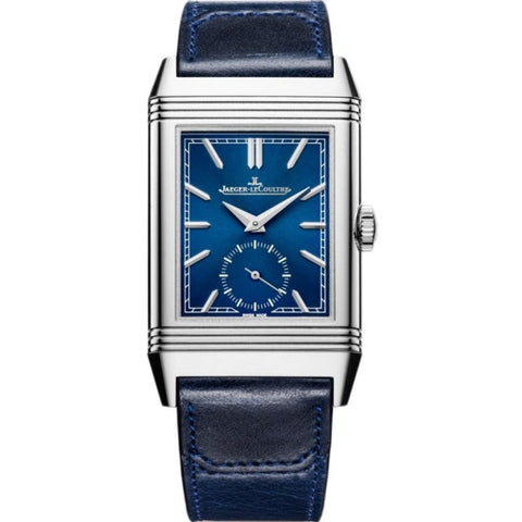 Jaeger Le Coultre Reverso Tribute Small Seconds Stainless Steel/Strap (Ref. Q3978480) - WATCHES Boston