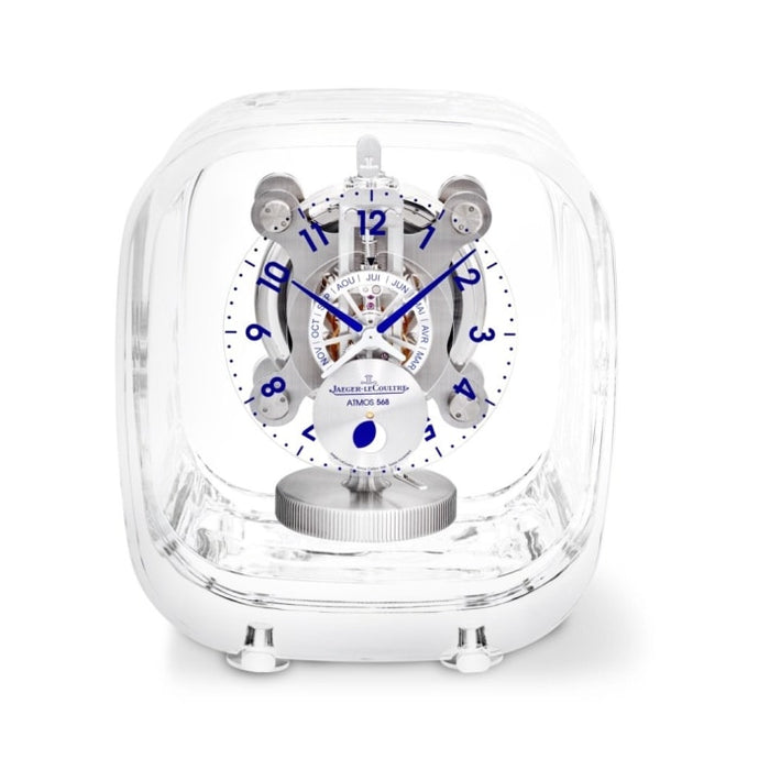 Jaeger-Lecoultre Atmos 568 By Marc Newson Baccarat Crystal (5165107) - Watches Boston