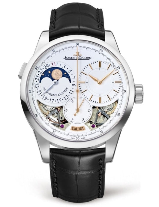 Jaeger-Lecoultre Duometre Quantieme Lunaire 40.5Mm White Gold (6043420) - Watches Boston