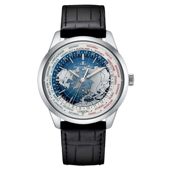 Jaeger-Lecoultre Geophysic Universal Time Steel (8108420) - Watches Boston