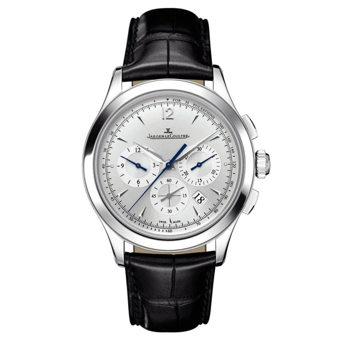 Jaeger-Lecoultre Master Chronograph 40Mm Stainless Steel (1538420) - Watches Boston