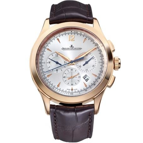 Jaeger-Lecoultre Master Chronograph Rose Gold 40Mm (1532520) - Watches Boston