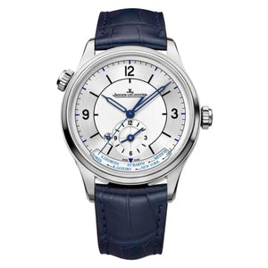 Jaeger-Lecoultre Master Geographic 39Mm Stainless Steel (1428530) - Watches Boston