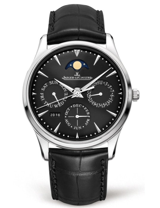 Jaeger-Lecoultre Master Ultra Thin Perpetual 39Mm Stainless Steel (1308470) - Watches Boston