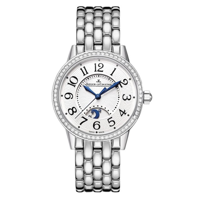 Jaeger-Lecoultre Rendez-Vous Night & Day 29Mm Steel & Diamonds (3468121) - Watches Boston
