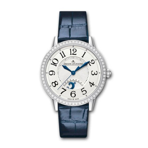 Jaeger-Lecoultre Rendez-Vous Night & Day 34Mm Steel & Diamonds (3448420) - Watches Boston
