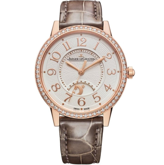 Jaeger-Lecoultre Rendez-Vous Night & Day Medium Pink Gold - Watches Boston