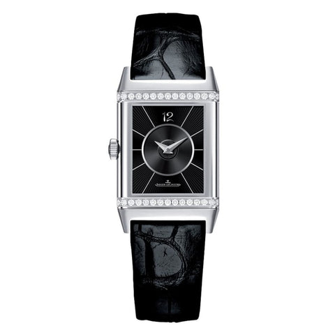Jaeger-Lecoultre Reverso Classic Medium Duetto Steel (2578420) - Watches Boston
