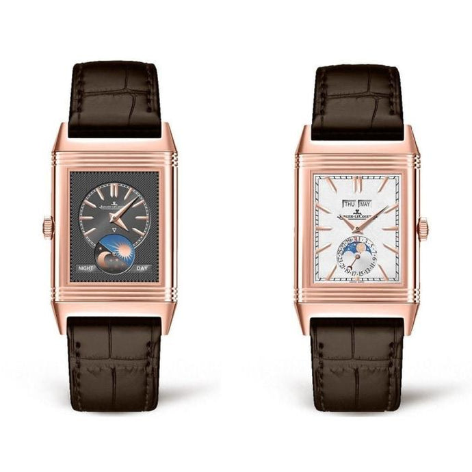 Jaeger-Lecoultre Reverso Tribute Calendar Rose Gold (3912420) - Watches Boston
