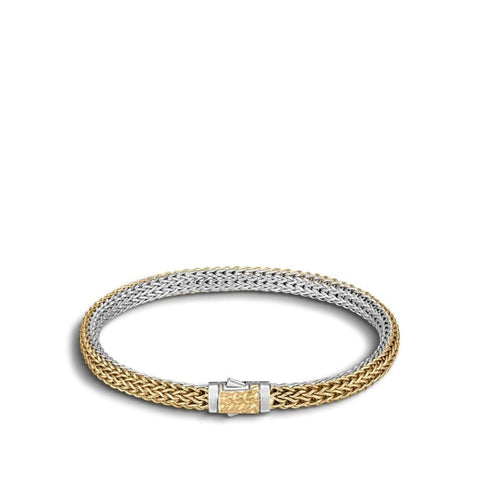 John Hardy~ Classic Chain Two-Tone Bracelet - Jewelry Boston