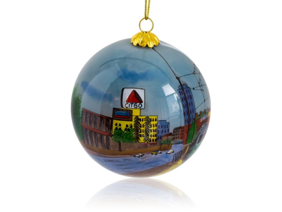 Kanin Press Boston Green Line Ornament - Home & Decor Boston