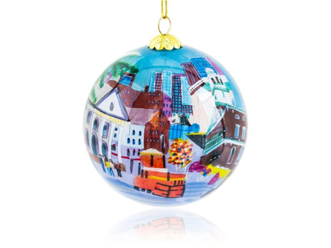 Kanin Press Quincy Market Ornament - Home & Decor Boston
