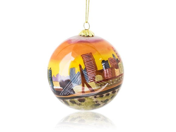 Kanin Press Zakim Bridge Ornament - Home & Decor Boston