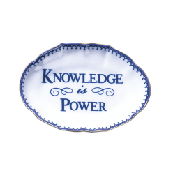 Knowledge Is Power Ring Tray - Boston