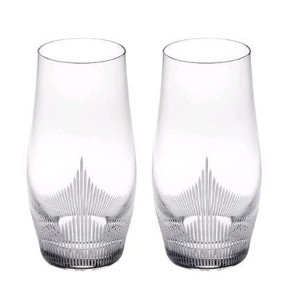 Lalique 100 Points Highball Tumbler Set Of 2 - Home & Decor Boston