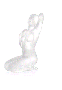 Lalique Aphrodite Sculpture - Home & Decor Boston