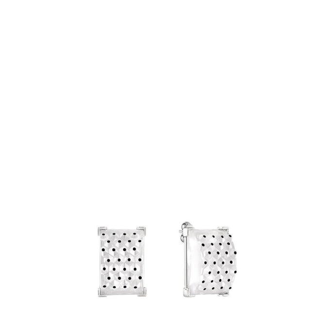 Lalique Cactus Earrings - Jewelry Designers Boston