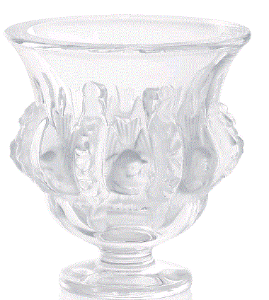 Lalique Dampierre Vase - Home & Decor Boston