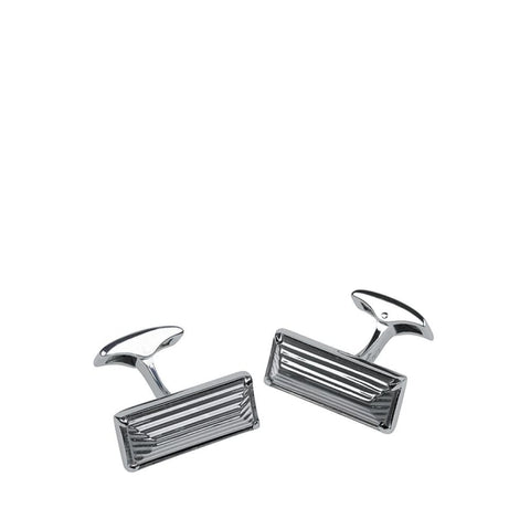 Lalique Rayonnante Black Cuff Links - Cufflinks Boston