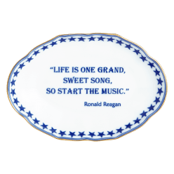 Life Is One Grand Ring Tray - Boston