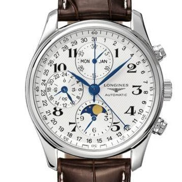 Longines Master Collection 40mm Stainless Steel/Strap (Ref L26734783) - WATCHES Boston