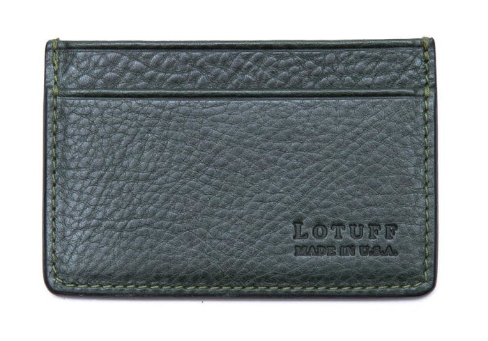 Lotuff Credit Card Wallet in Green - GIFTS Boston