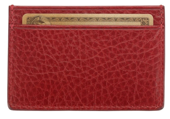 Lotuff Credit Card Wallet in Red - GIFTS Boston