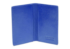 Lotuff Folding Card Wallet in Electric Blue - GIFTS Boston