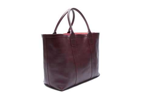 Lotuff Working Tote In Cordovan - Gifts Boston