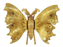 Load image into Gallery viewer, M. Buccellati Estate Butterfly Pin - Jewelry Boston
