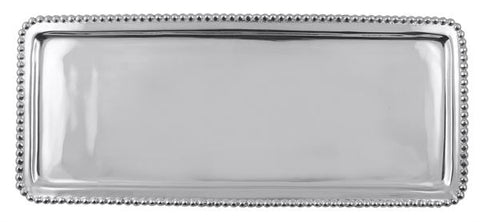 Mariposa Beaded Long Rectangular Tray - HOME & DECOR Boston