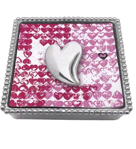 Mariposa Heart Napkin Holder - Home & Decor Boston