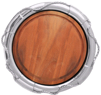 Mariposa Life Ring Round Platter - Home & Decor Boston