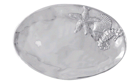 Mariposa Oval Sea Server - Home & Decor Boston