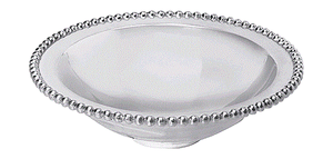 Mariposa Pearled Serving Bowl - HOME & DECOR Boston