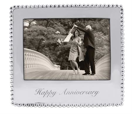 Mariposa~Happy Anniversary Beaded Frame - Home & Decor Boston