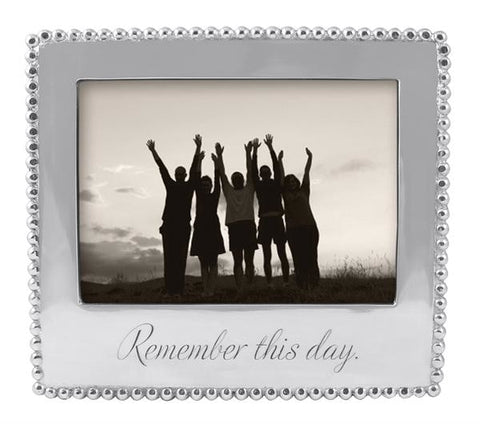 Mariposa~Remember This Day Beaded Frame - Home & Decor Boston