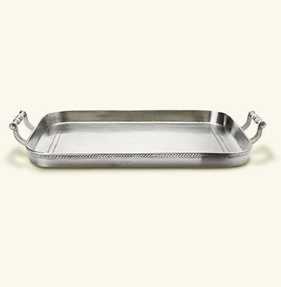 Match Pewter- Gallery Tray - Home & Decor Boston