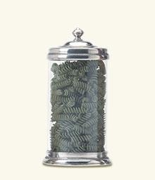 Match Pewter- Large Glass Canister - Home & Decor Boston