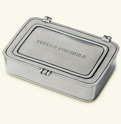 Match Pewter- Tutto E Possibile Large Box - Gifts Boston