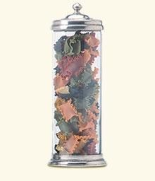 Match Pewter- X-Large Glass Canister - Home & Decor Boston
