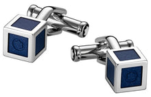 Load image into Gallery viewer, Montblanc Heritage Ss & Lacquer Box Cufflinks - Gifts Boston