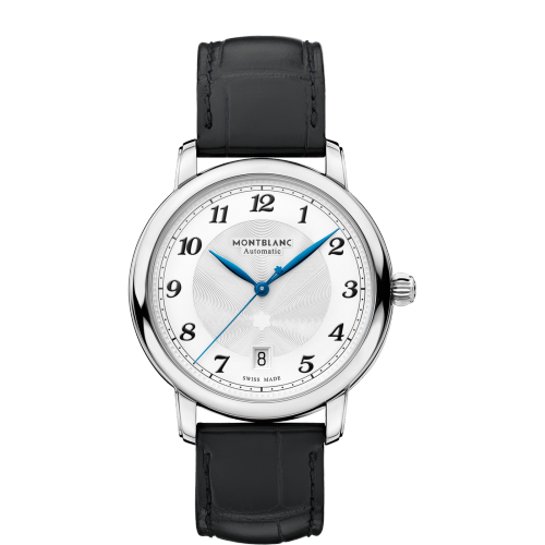 Montblanc Star Legacy Automatic Date Stainless Steel/leather Strap 39Mm (116522) - Watches Boston