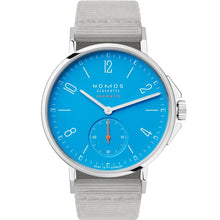 Load image into Gallery viewer, NOMOS Ahoi Neomatik Signalblau 36.3mm Stainless Steel (562) - WATCHES Boston