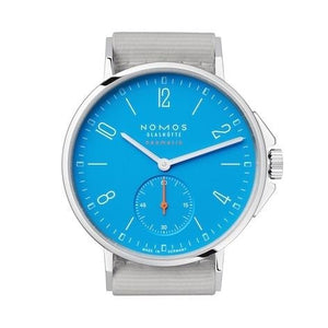Nomos Ahoi Neomatik Signalblau 36.3Mm Stainless Steel (562) - Watches Boston