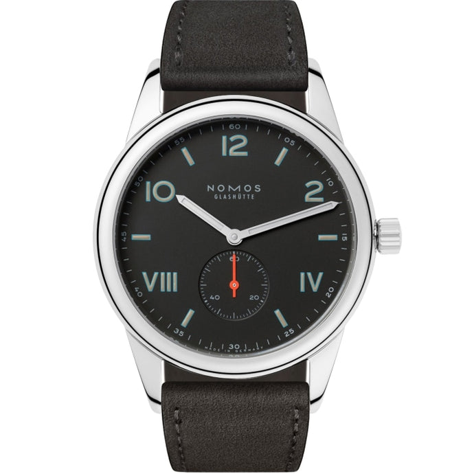 NOMOS Club 38 Campus Nacht 38.5mm Stainless Steel (736) - WATCHES Boston