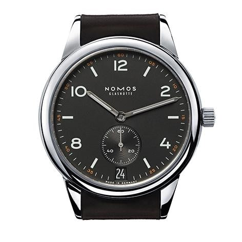 Nomos Club Automat Datum Dunkel 41.5Mm Stainless Steel (774) - Watches Boston
